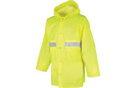 Nepromokavý reflexní plášt - Pláštěnka SENIOR 0440 Reflexní XXL