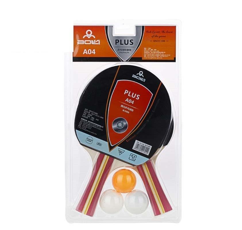Pálky na stolní tenis PLUS A04 SET
