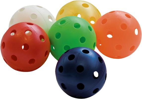 Florbalový míček ADVANCE barevný