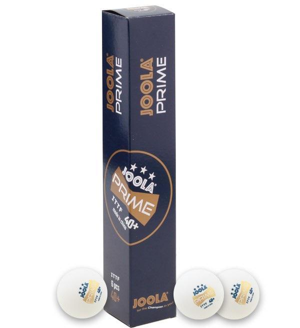 Míčky na stolní tenis JOOLA PRIME ABS*** - SET 6 ks