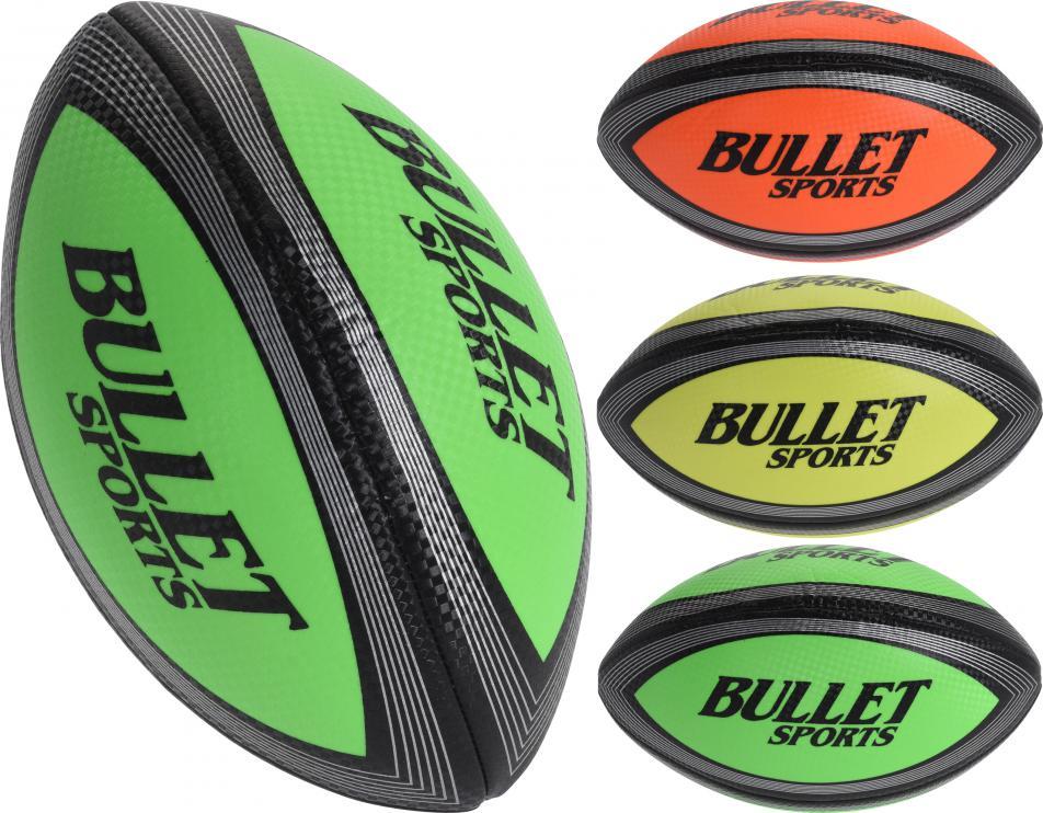 Dětský míč RUGBY BULLET SPORTS - 3 oranžová