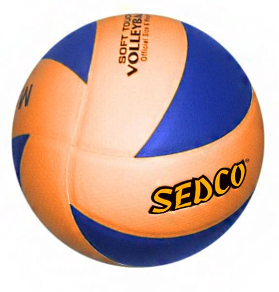 Míč volejbalový SEDCO MATCH OFICIAL 8-mi dílný