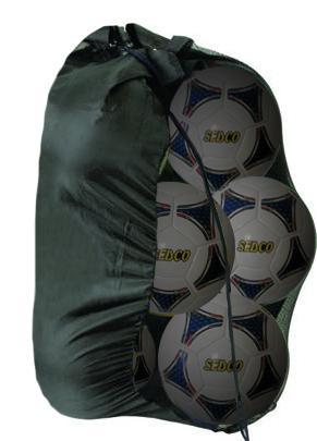 Fotbalové míče SEDCO PARK 4 SET 6ks + nylonová síť/sleva 30%