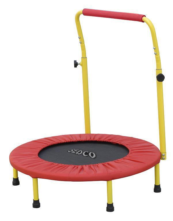 Dětská trampolína SEDCO s madlem 5042 červená