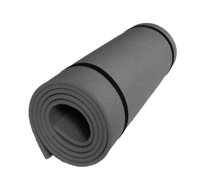 Karimatka jednovrstvá z materiálu EVA 8mm-černá
