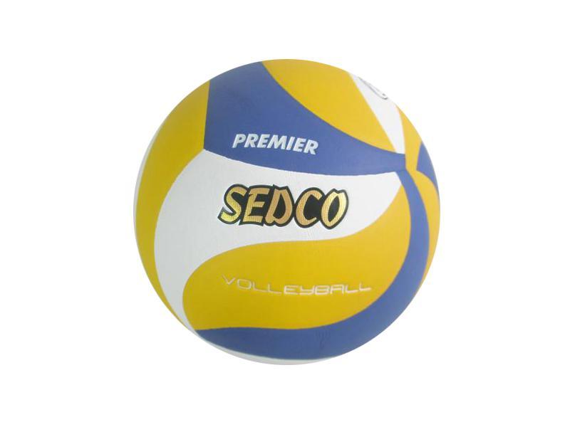Míč volejbalový SEDCO PREMIER NEW barva žluto/modro/bílá