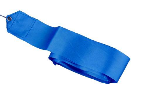 Gymnastická stuha 6 metrů - modrá