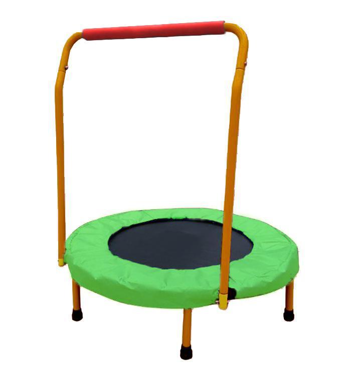 Dětská trampolína SEDCO s madlem 5042 zelená