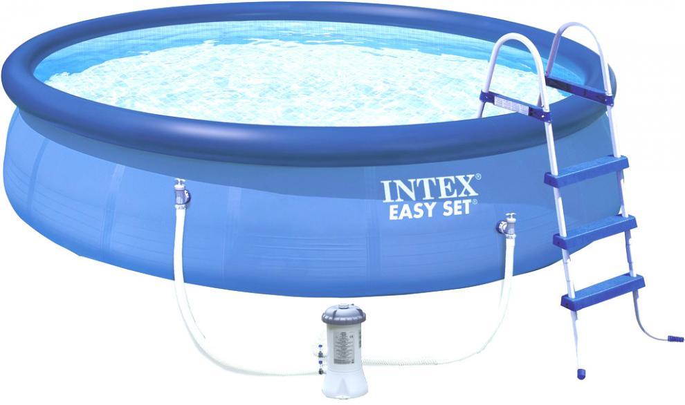 Bazén Intex Easy 457x122 SET s filtrací