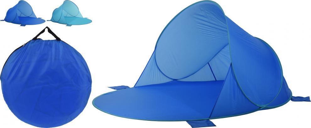 Plážová zástěna skládací SEDCO 160x200x100 cm - se stříškou