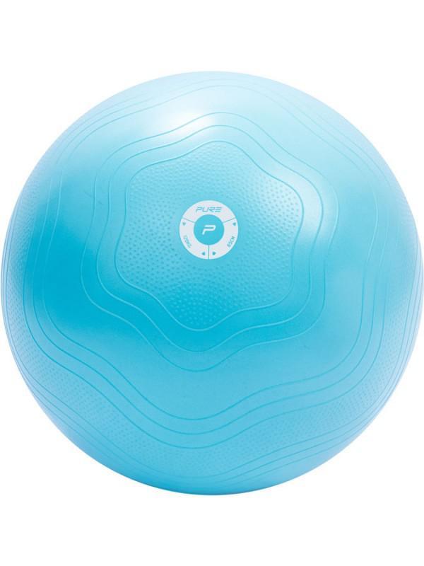 Gymnastický míč Pure2Improve YOGA BALL 65 cm modrá